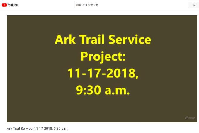 Ark trail service