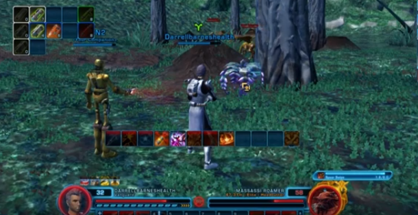 Farming trick SWTOR video crafting materials collected